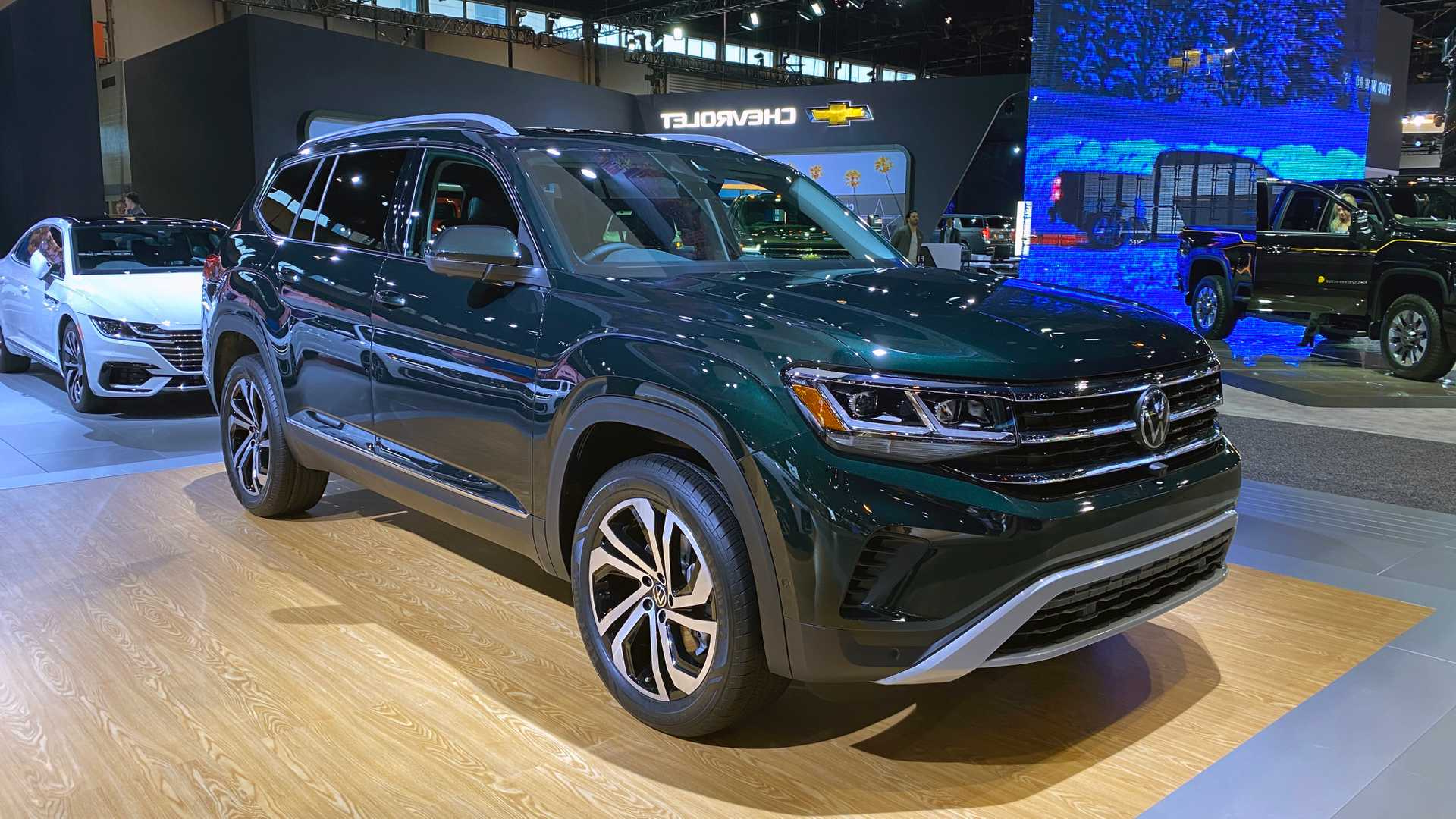 2021 Volkswagen Atlas Refresh Arrives With New Face And Features