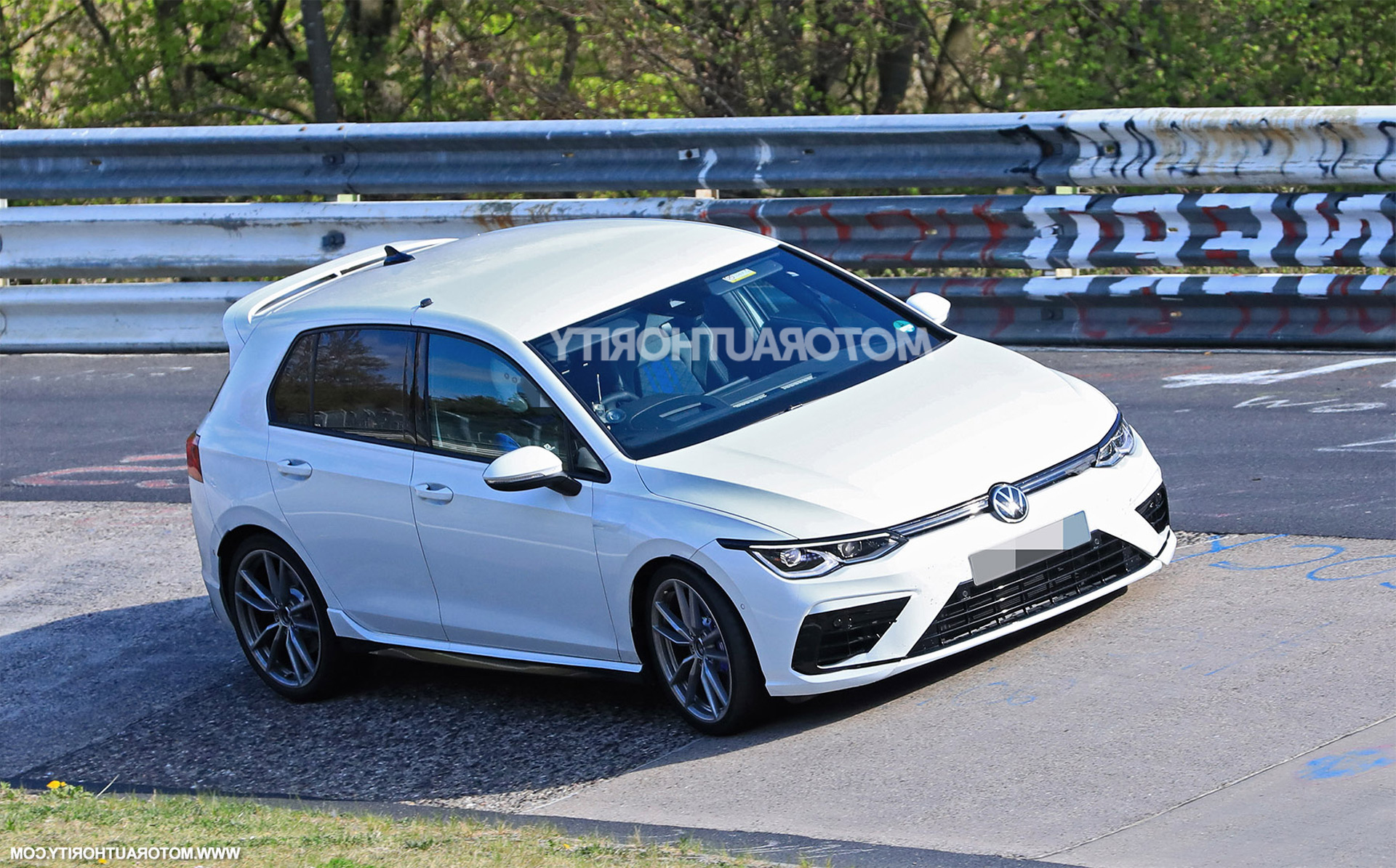 2021 Volkswagen Golf R Spy Shots And Video