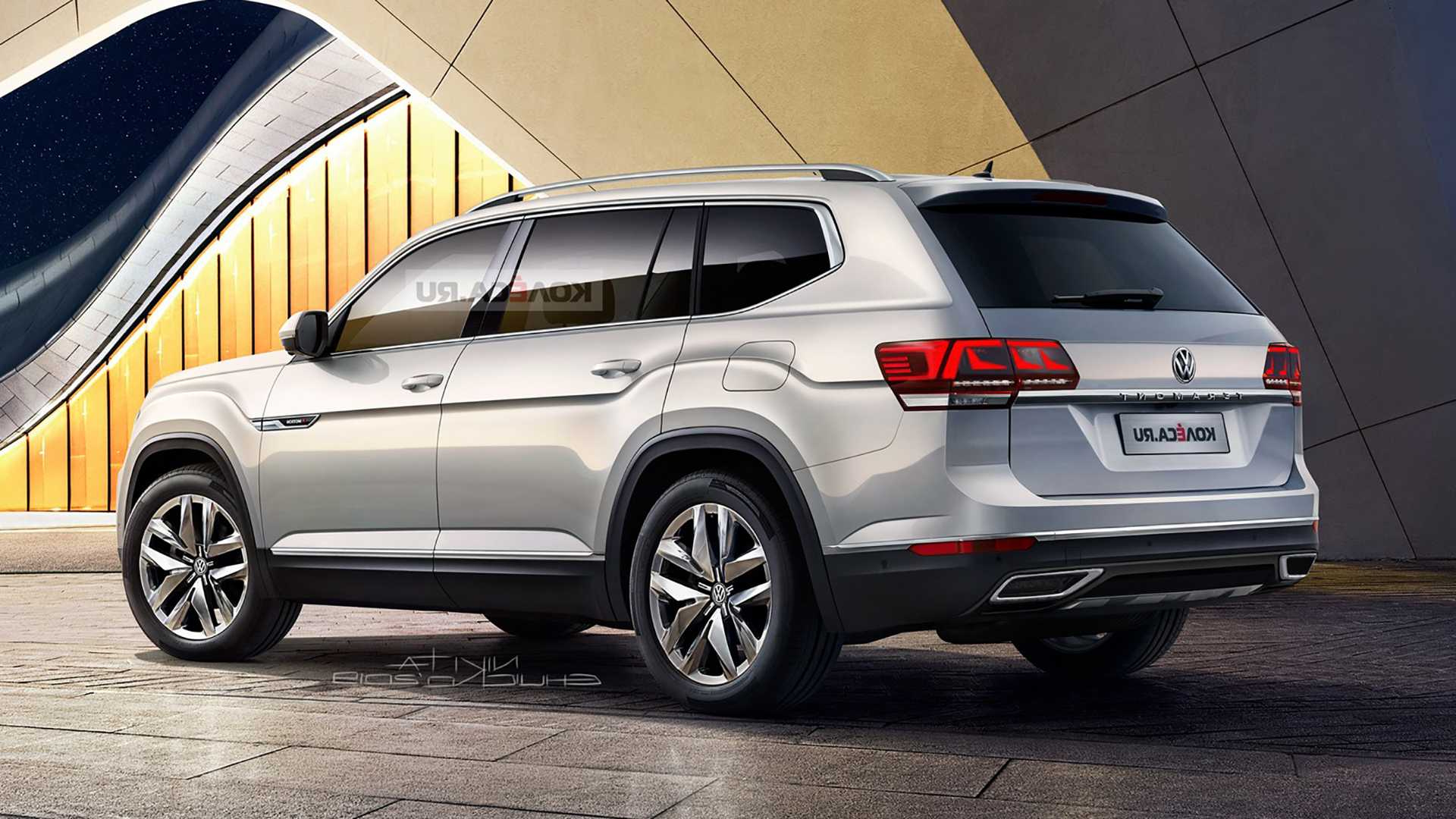 when does the 2021 volkswagen atlas come out  volkswagen