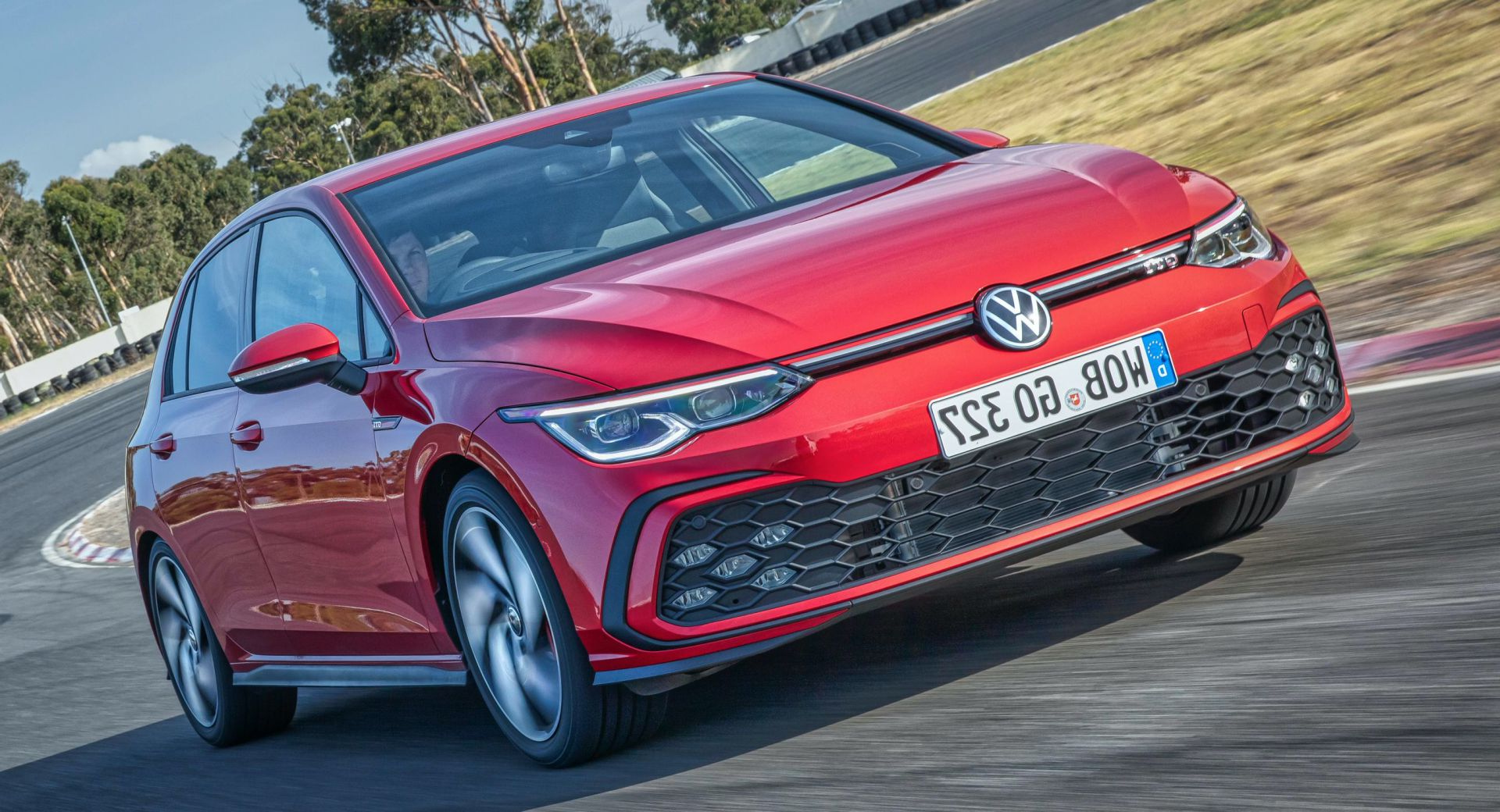 2021 Vw Golf Gti Escapes Studio, Gets Photographed And