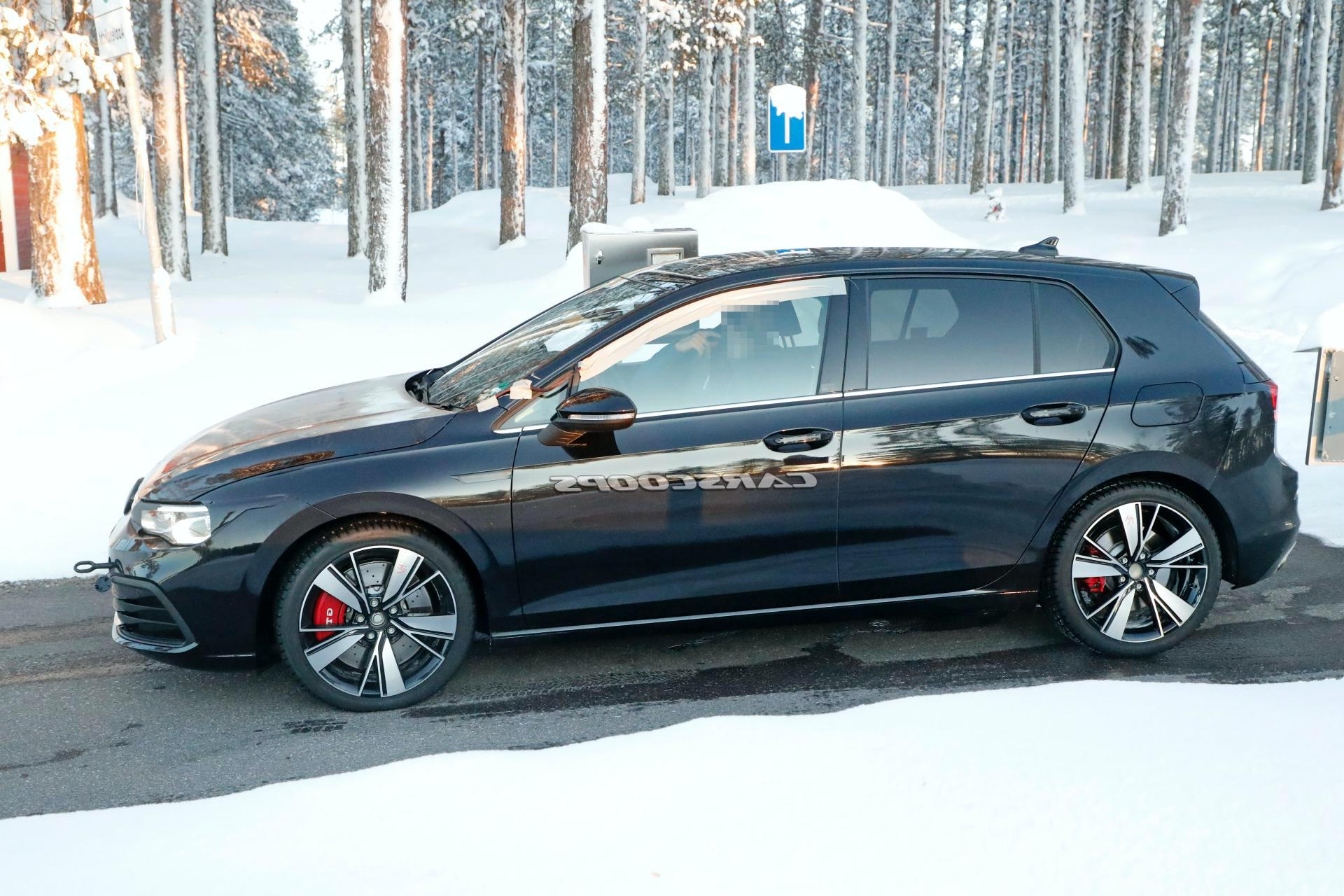 2021 Vw Golf Gti: Is This An Early Prototype For Hardcore