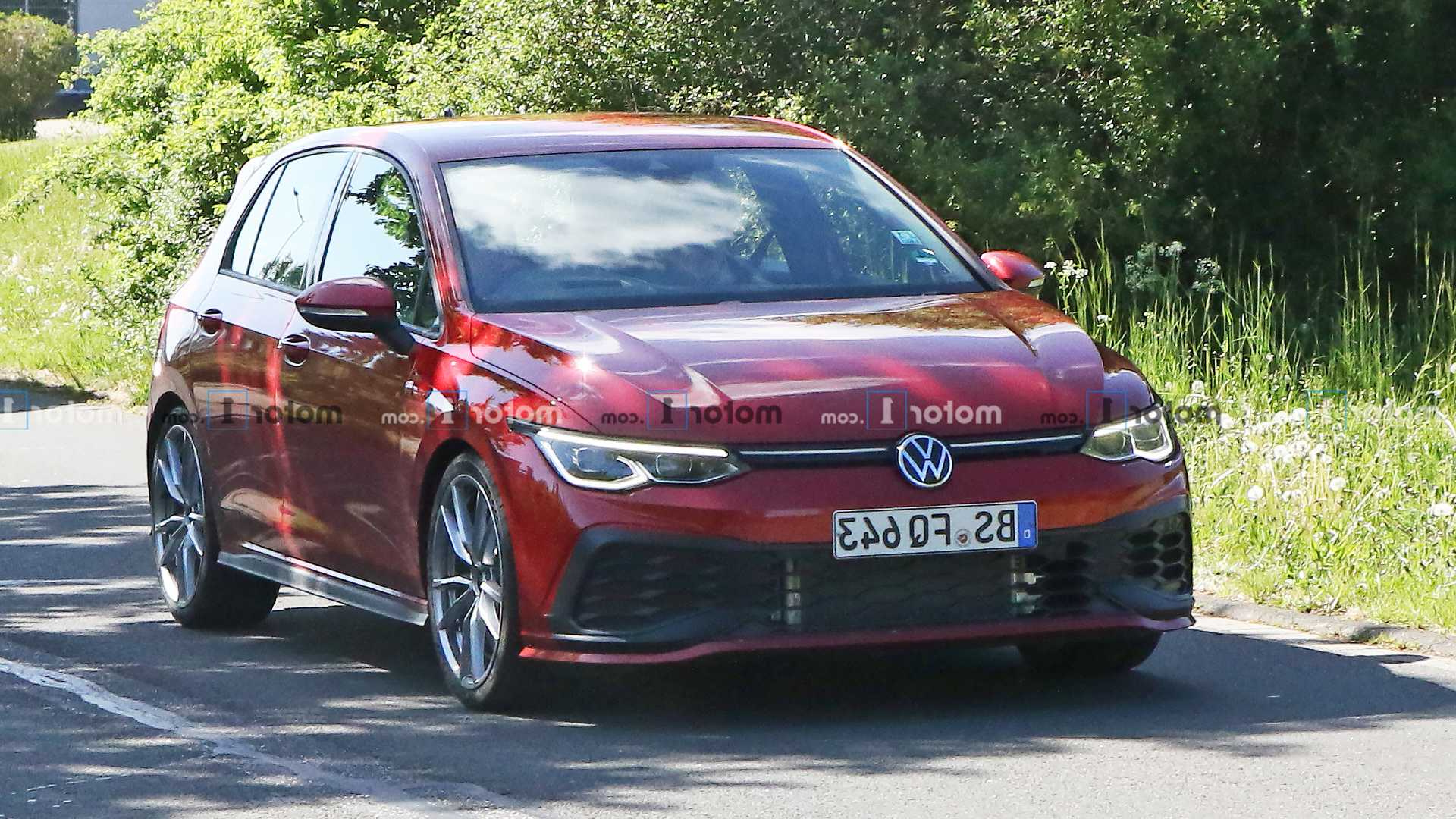 2021 Vw Golf Gti Tcr Spied Up Close Practically Naked