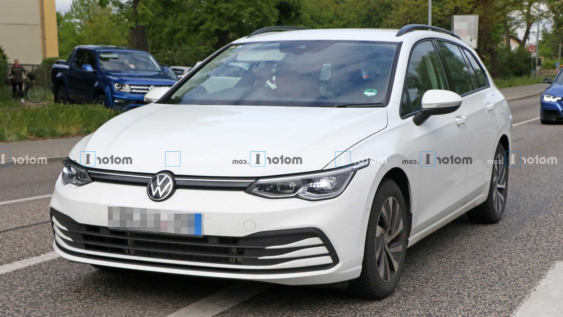 2021 Vw Golf Variant Spied For The First Time