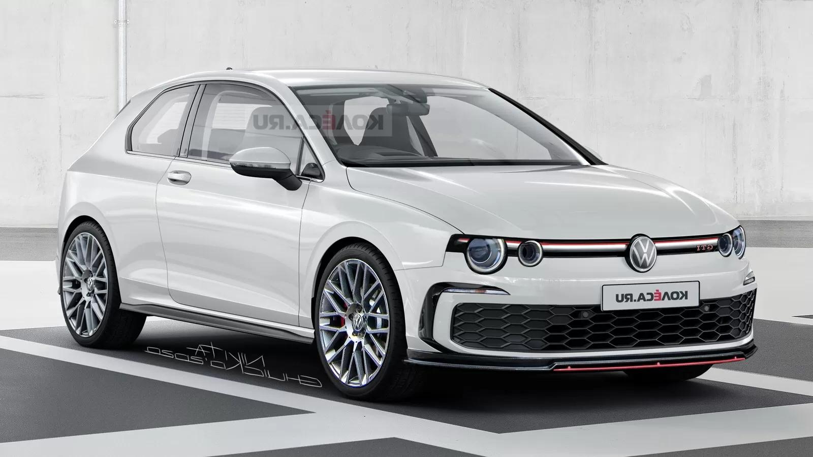 Dressing The 2021 Vw Golf Gti Mk8 With Retro Cues Might Not