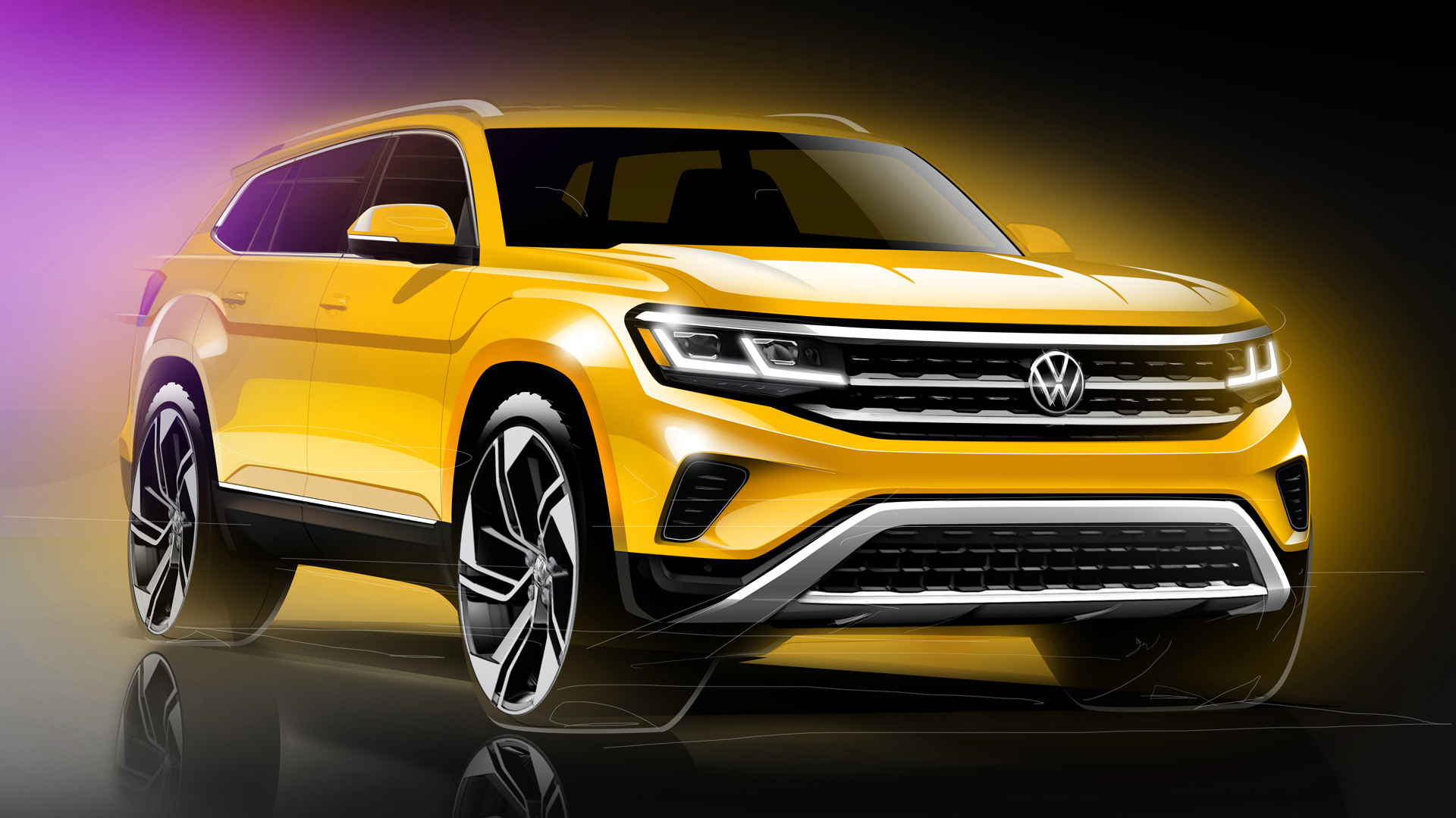 Vw Readying Handsome Update For 2021 Atlas