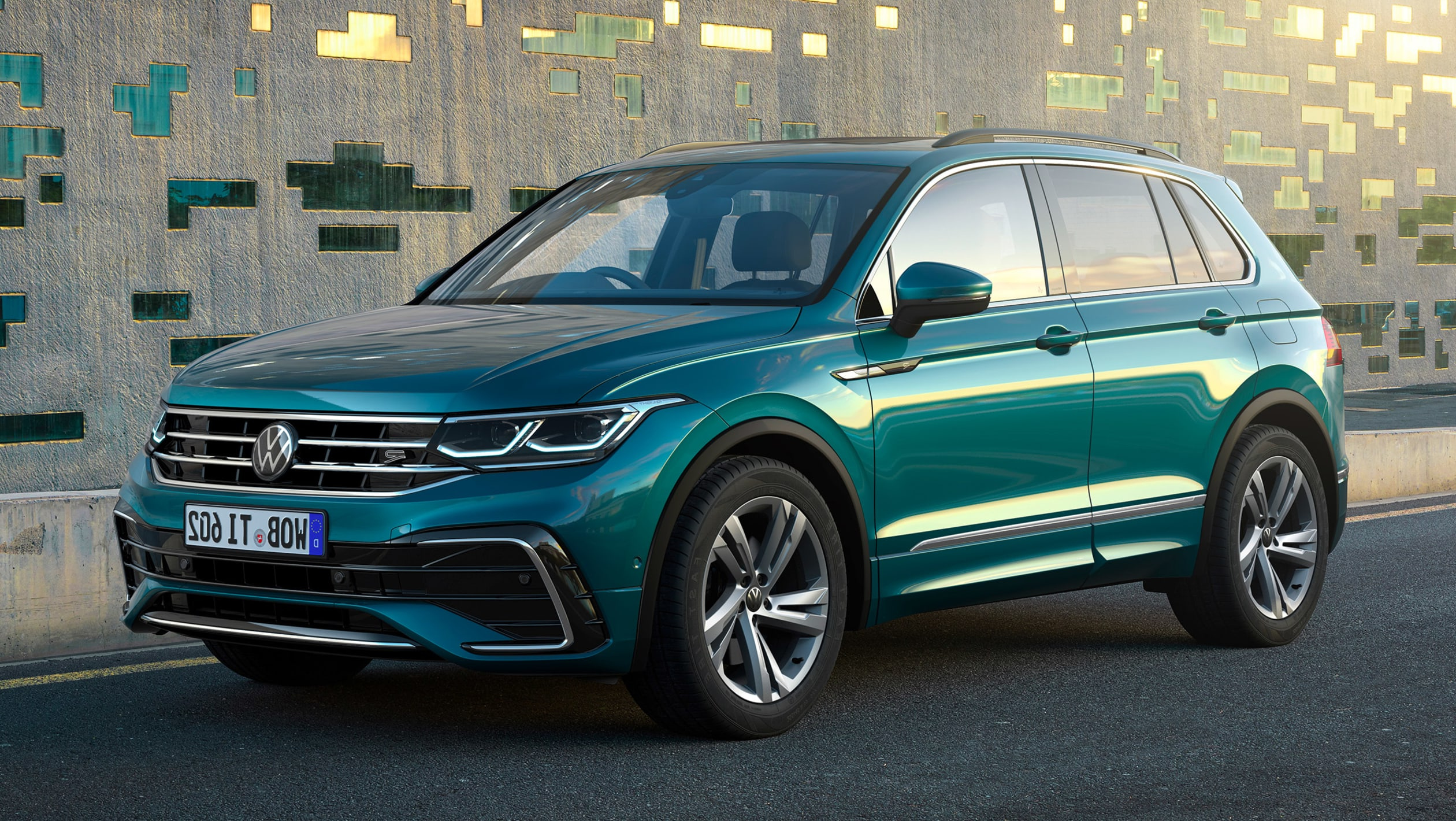 2021 Volkswagen Tiguan Facelift Brings Tech Updates