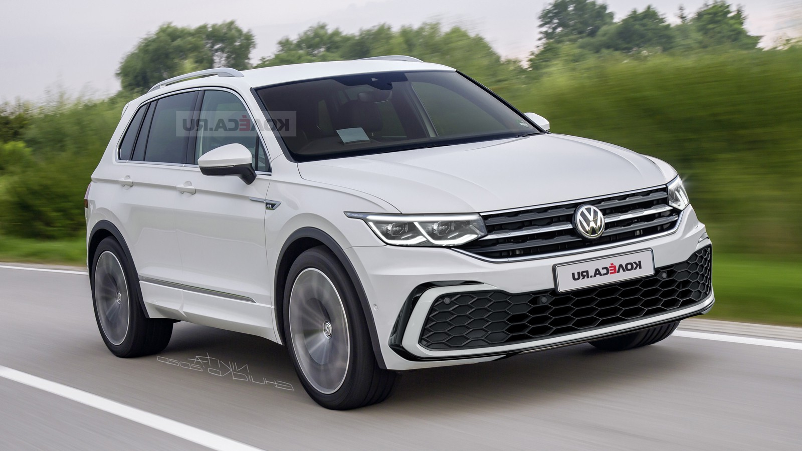 2021 Volkswagen Tiguan: Here's What It Could Look Like