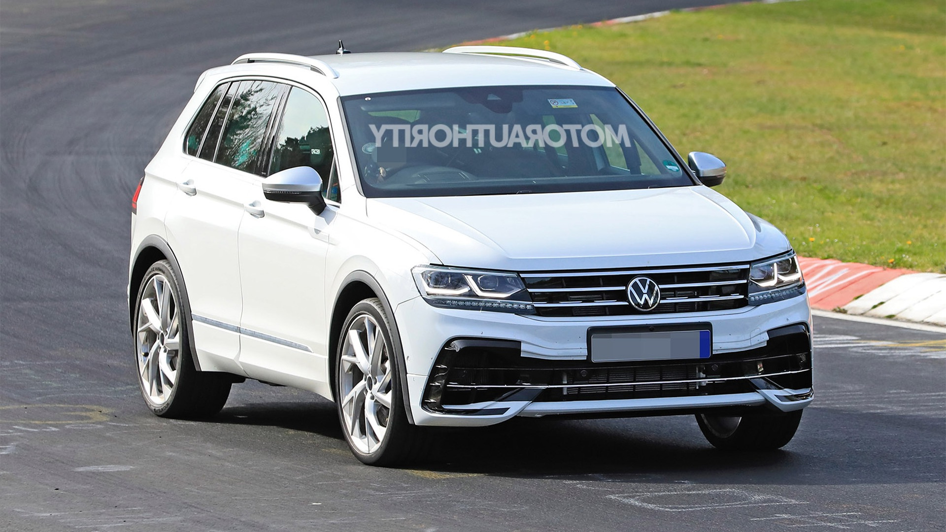 2021 Volkswagen Tiguan R Spy Shots And Video