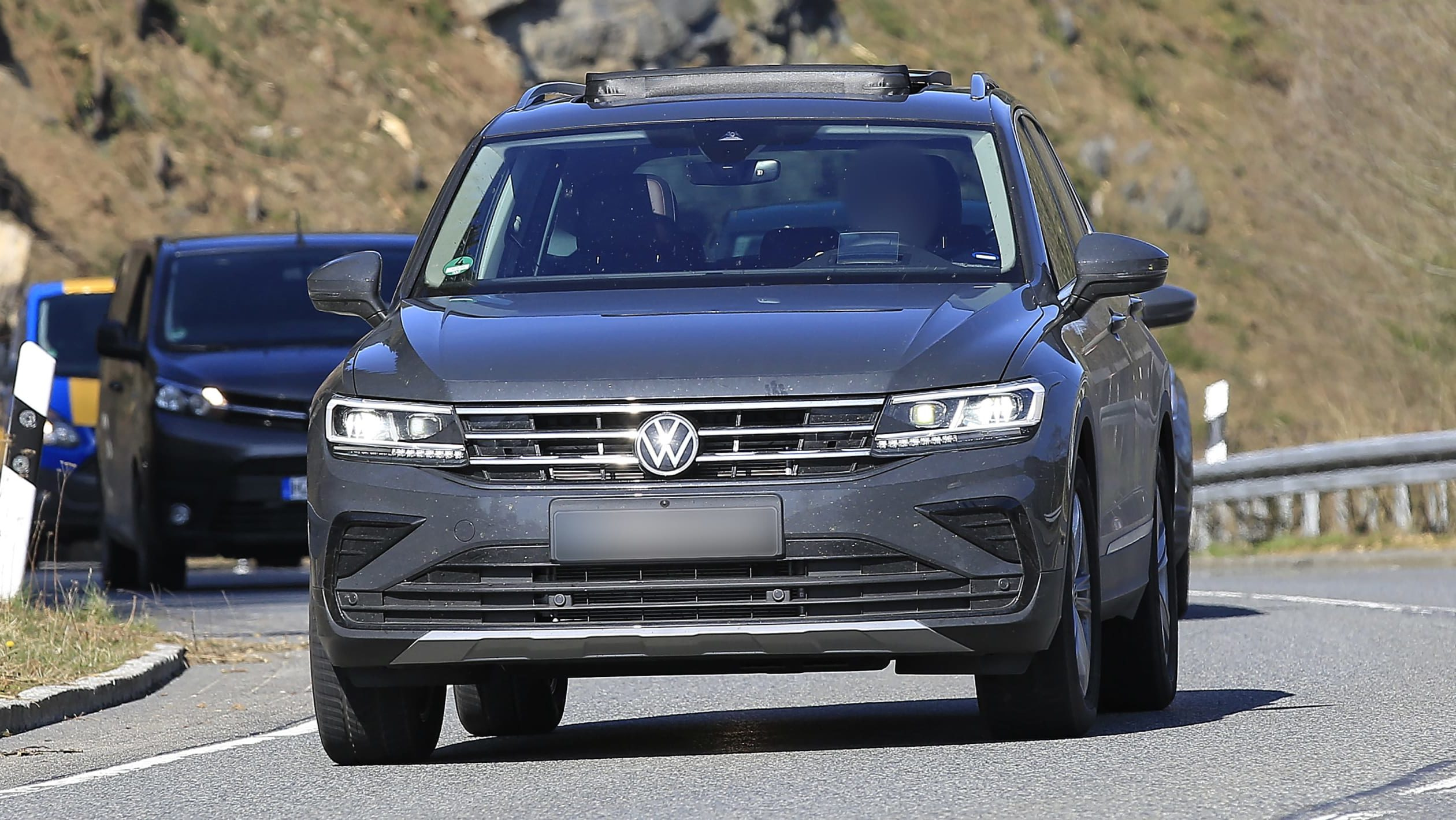 2021 Volkswagen Tiguan Spied On The Road! - Somag News