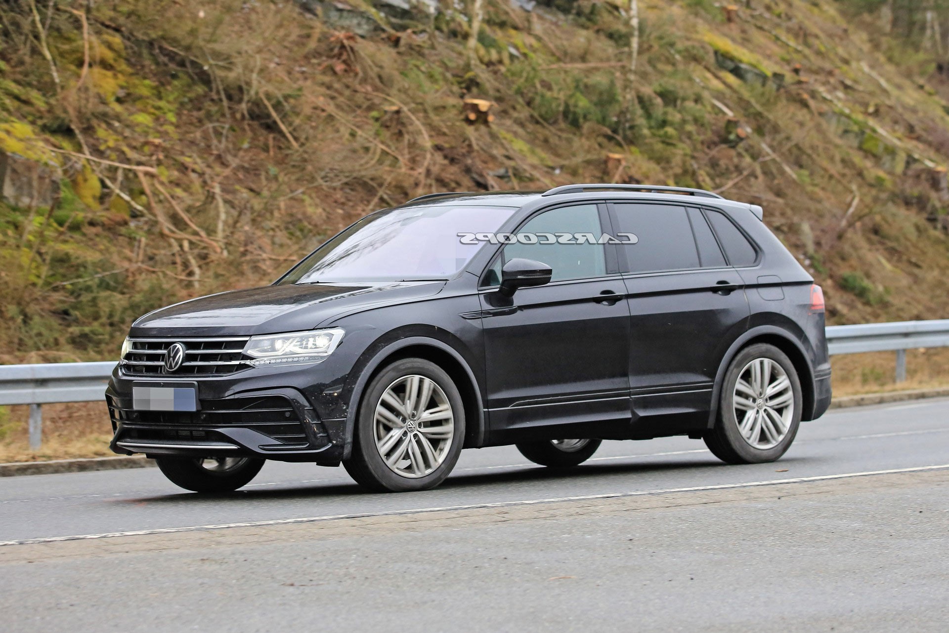 2021 Vw Tiguan Facelift Looks Mighty Athletic In Official