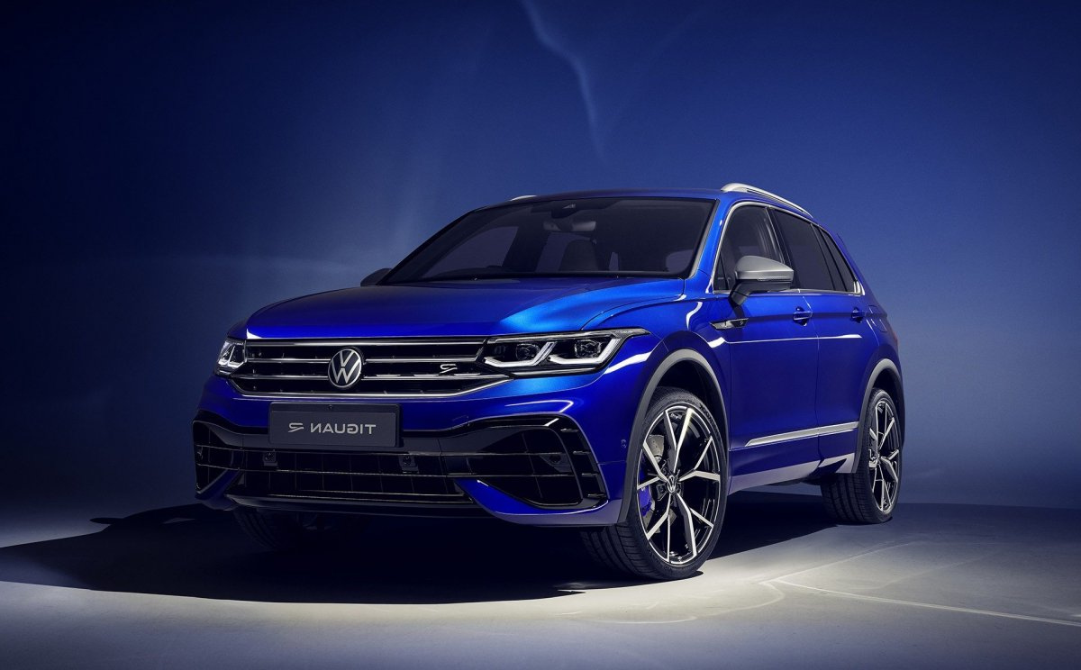 2021 Vw Tiguan R Debuts With 235Kw Of Hot Suv Goodness