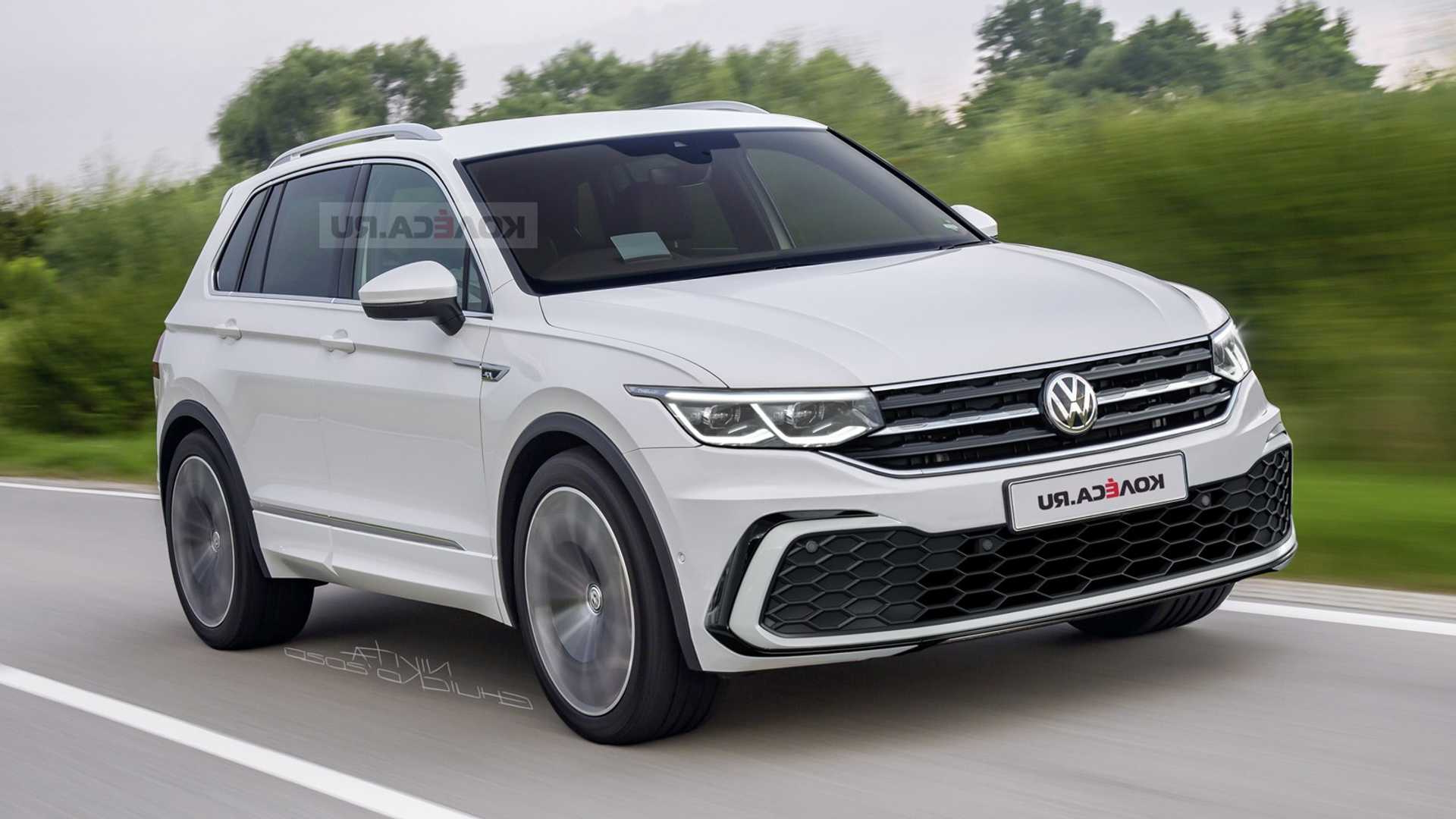 2021 Vw Tiguan Rendering Previews Obvious Changes