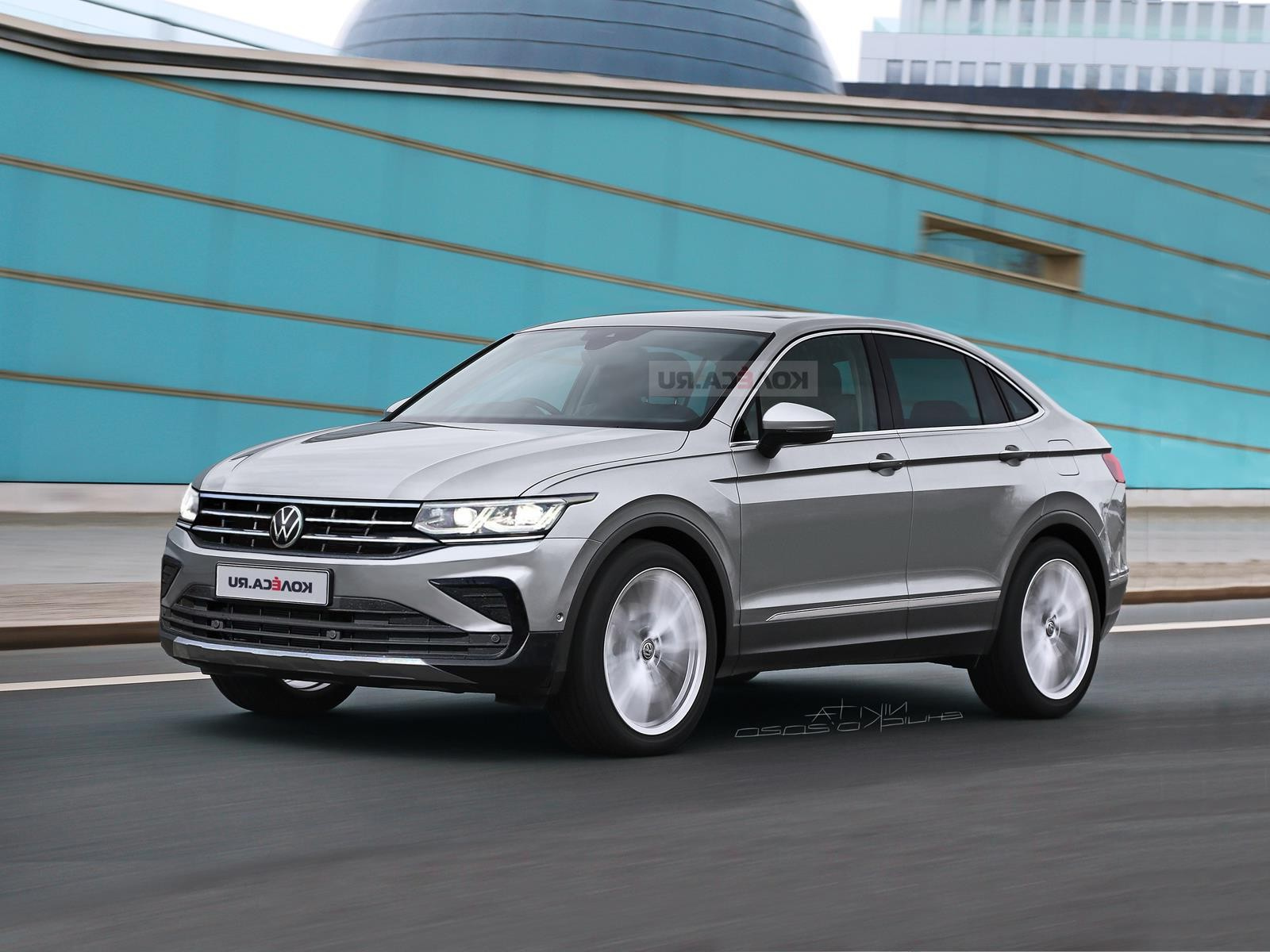 2022 Volkswagen Tiguan X Coupe Is Happening, And Here's What