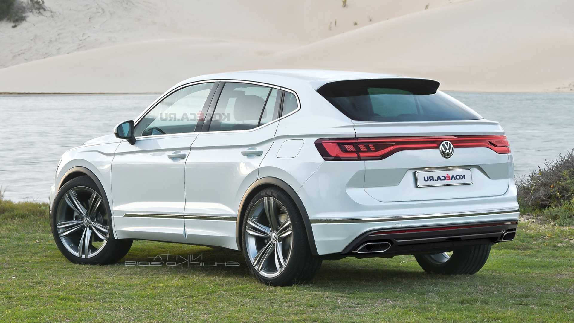 2022 Vw Tiguan Imagined With Coupe Influences