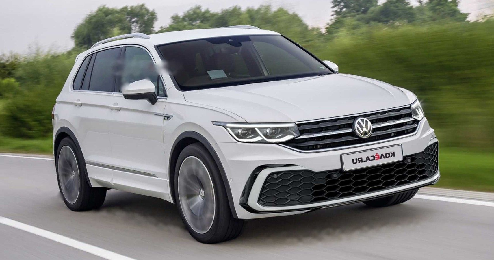 Spy Pics Reveal 2021 Vw Tiguan With Hybrid Tech | Hotcars