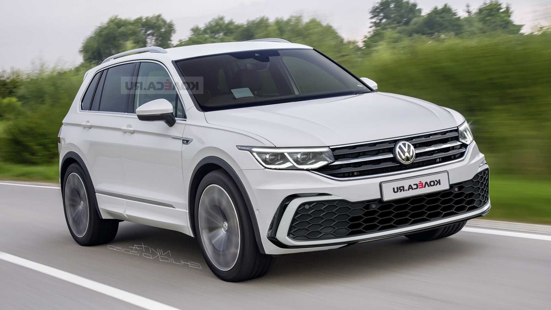 The 2021 Volkswagen Tiguan R Suv That May Come Out This Year