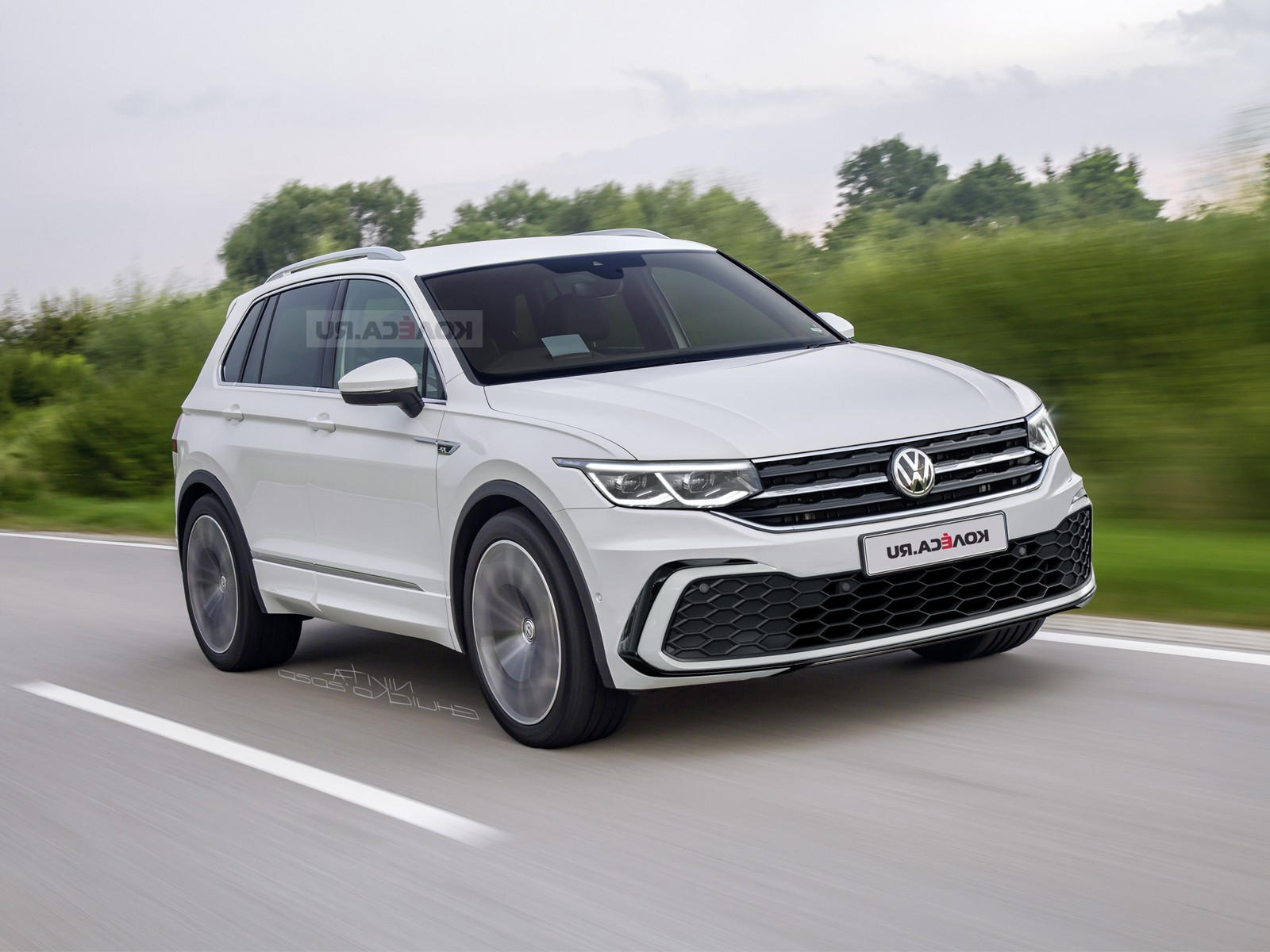 This Is Our Best Look Yet At The 2021 Vw Tiguan   Carbuzz