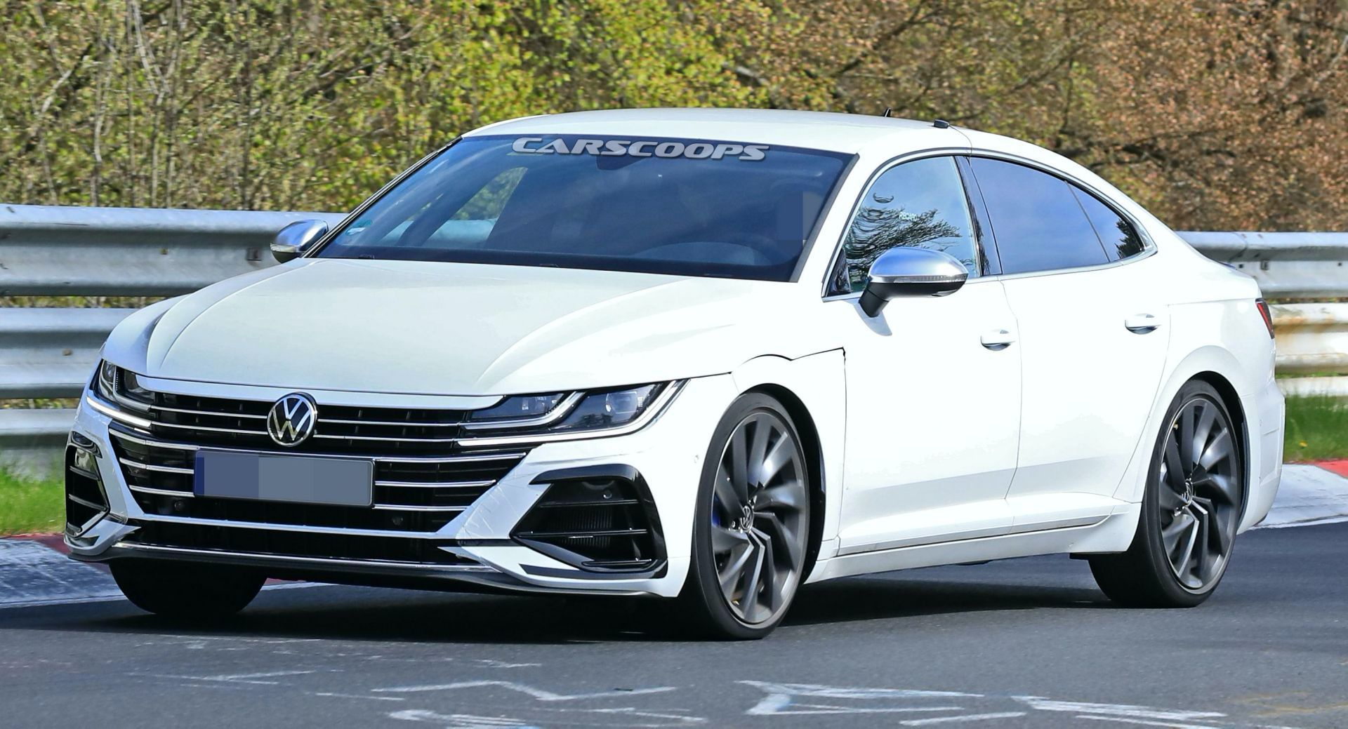 2021 VW Arteon R Looks Focused During First N rburgring