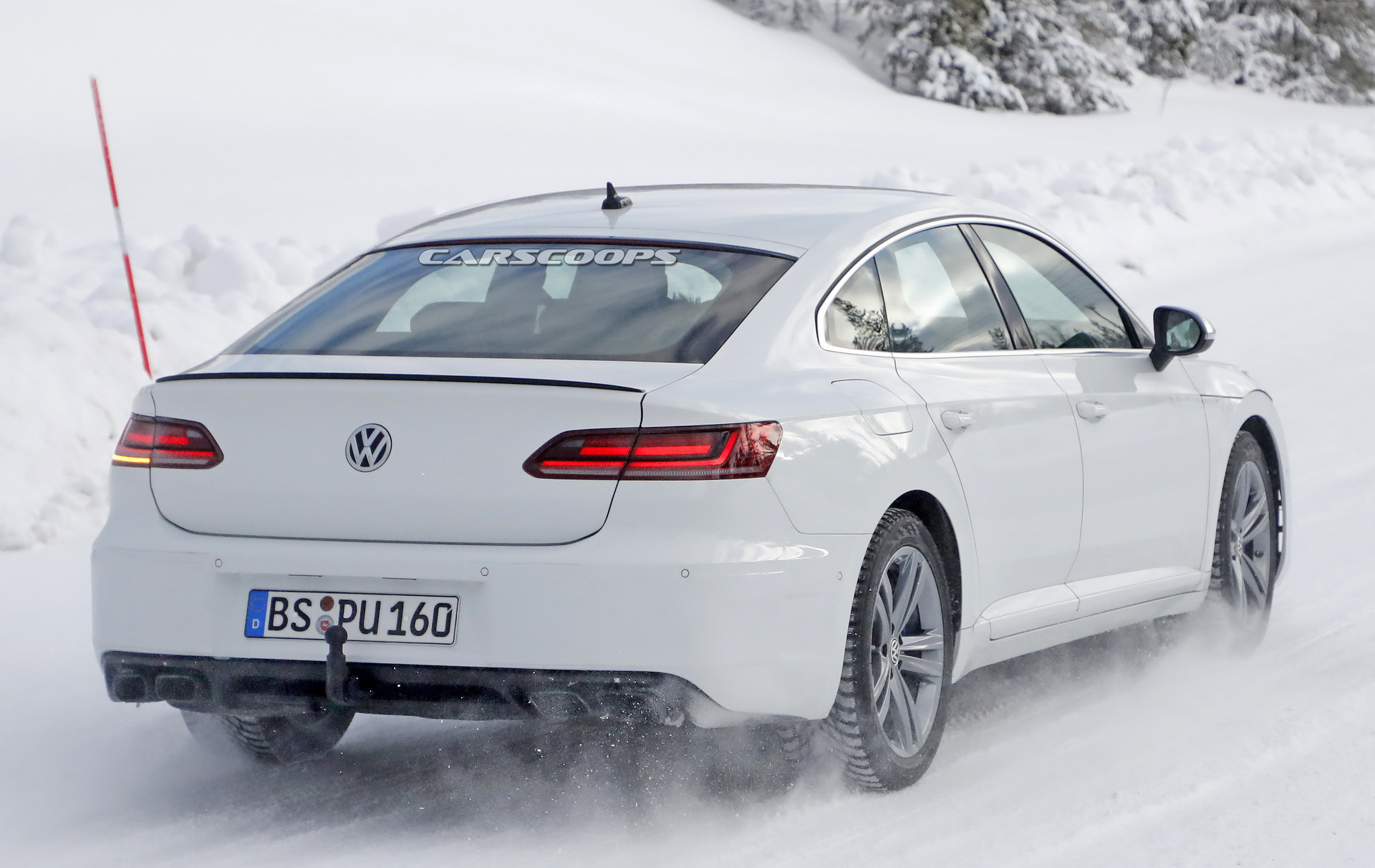 2021 VW Arteon R Puts The R In Super 400 HP VR6 Rumored