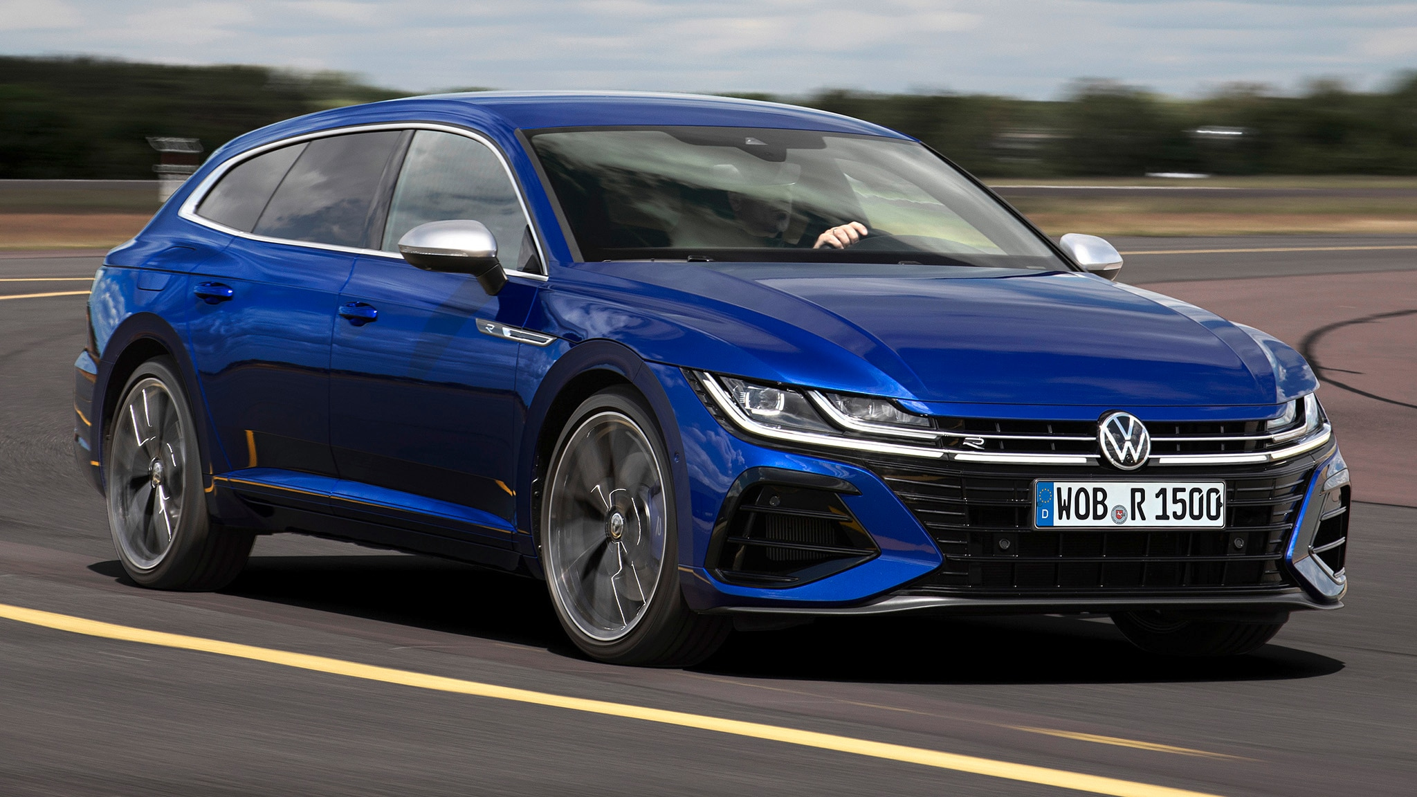 Gaze Upon The 2021 VW Arteon Wagon And 315 HP Arteon R