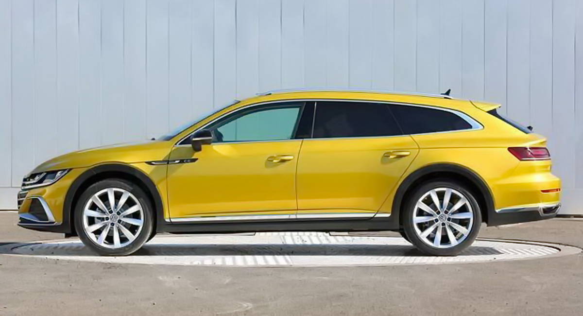 Wagon Alert Here s VW s 2021 Arteon Shooting Brake Will