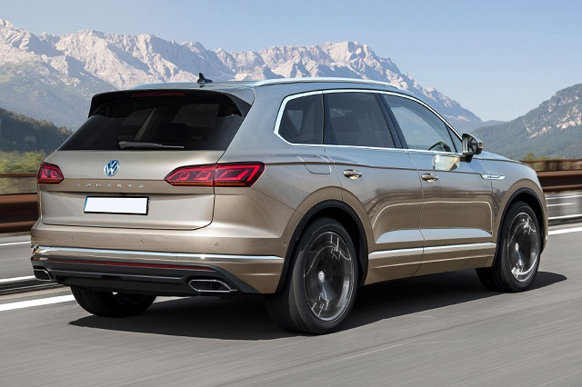 2021 VW Touareg News R Version Release SUV 2021 New