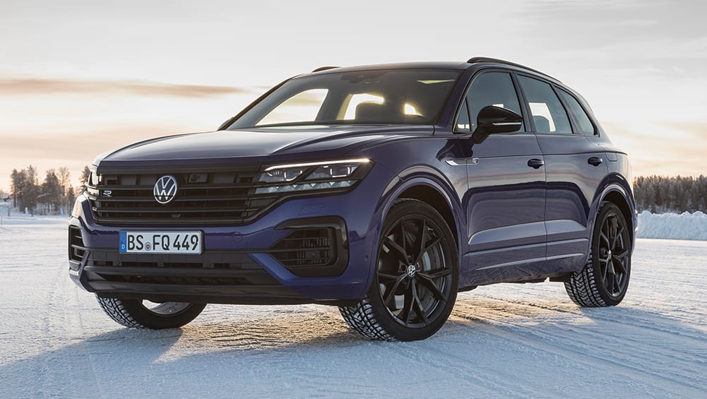 New VW Touareg R 2021 Detailed Performance SUV Gets 340kW