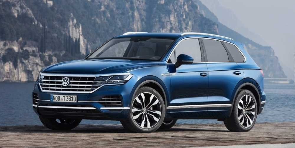 Volkswagen Touareg 2021 Dimensions First Drive Car