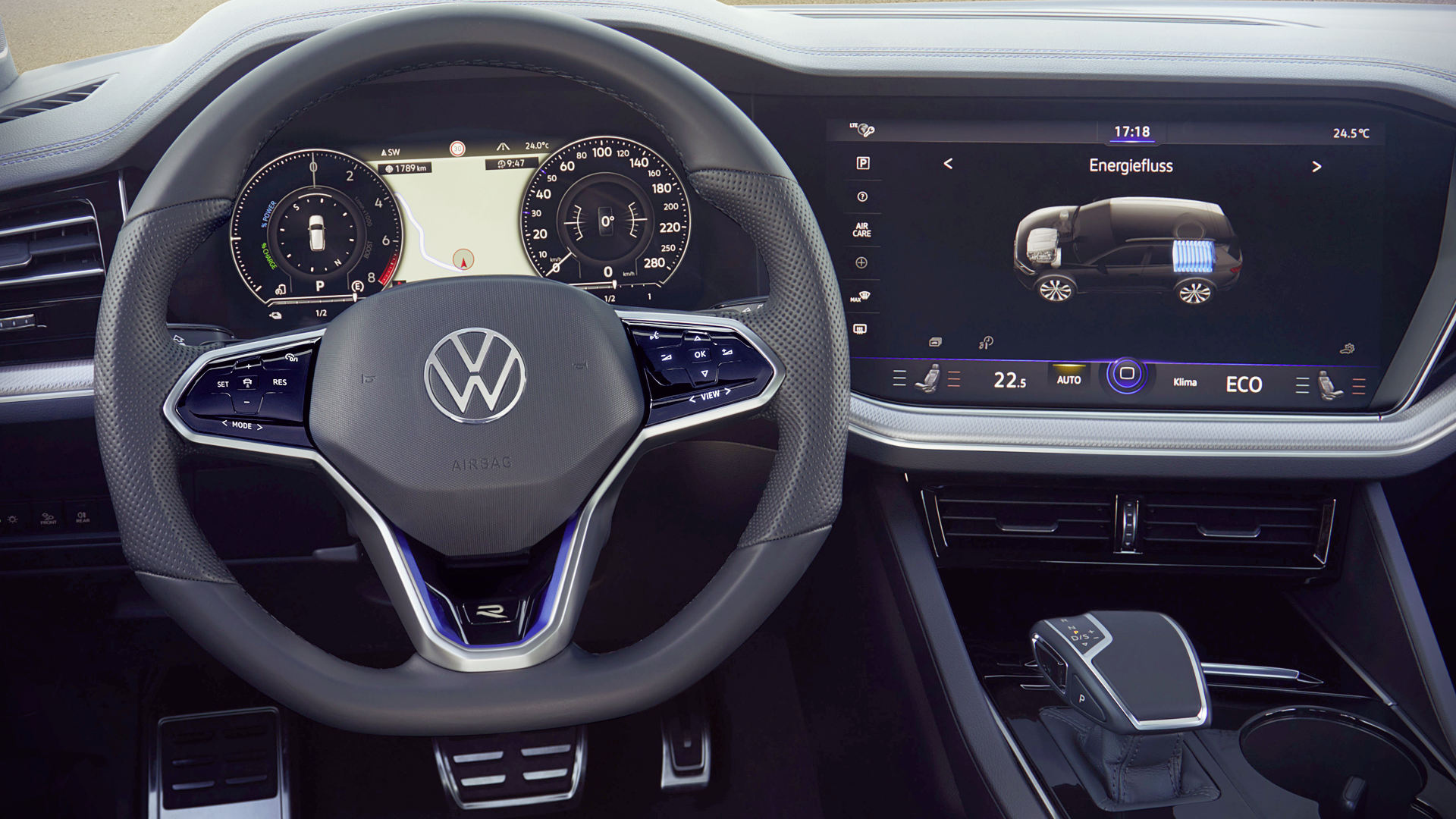 VW Touareg R Plug In Hybrid 2021 Interior