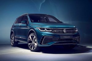 2021 Volkswagen Tiguan Facelift Revealed With Sharper Styling